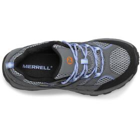 Merrell Moab 2 Low Lace Waterproof Scarpe Bambino, grigio